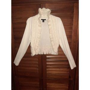 Bolero sweater-shrug